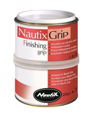 Nautix Grip : 2 Komponentli Şeffaf Kaymaz Boya